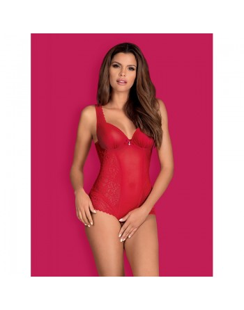 Rougebelle Body ouvert - Rouge