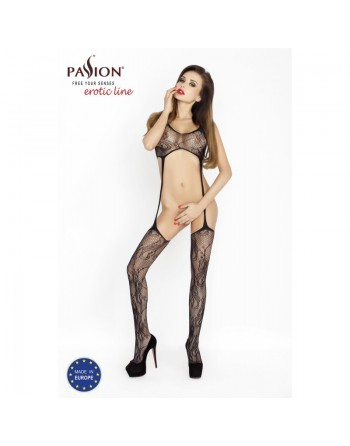 BS016 Bodystocking - Noir