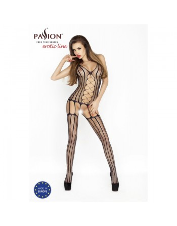 BS013B Bodystocking - Noir