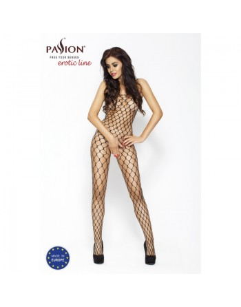 BS001 Bodystocking - Noir